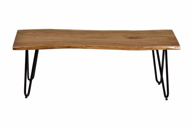 Live Edge Matching Acacia Bench - Cedartree Home