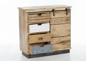 Small Industrial Sideboard - Cedartree Home