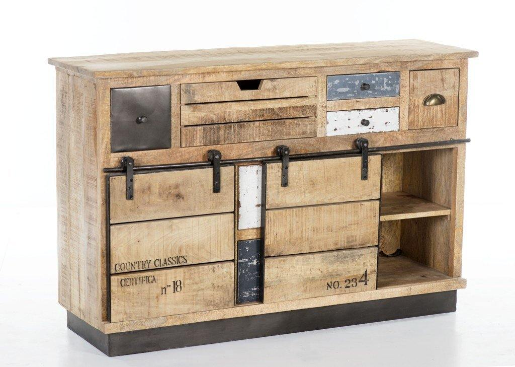 Large Industrial Sideboard - Cedartree Home