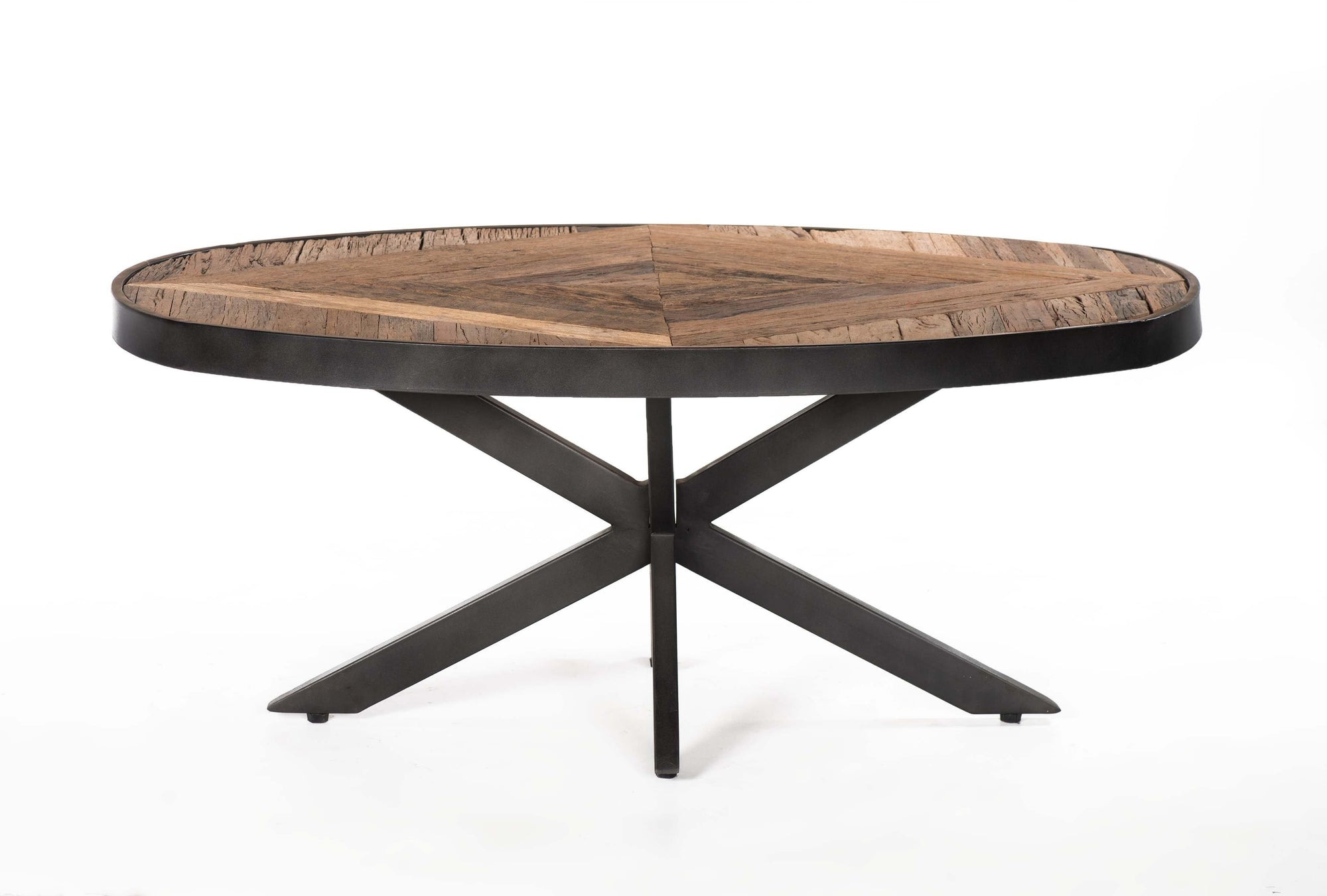 Hand Crafted Oval Coffee Table - Cedartree Home
