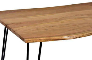 Live Edge Acacia Dining Table - Cedartree Home