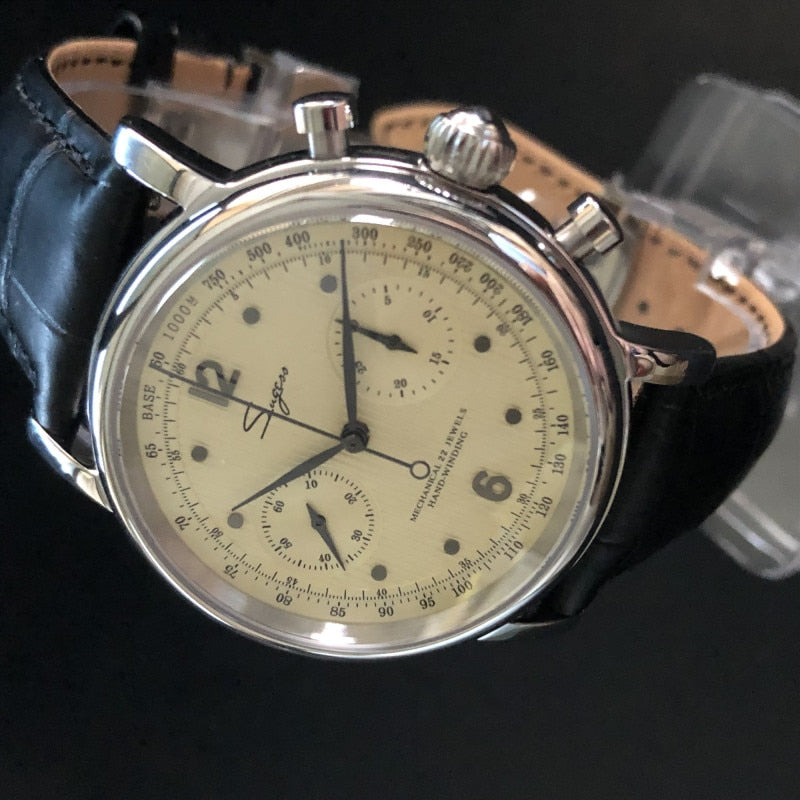 NATO Pilot Chronograph Real ST19 seagull-Movement