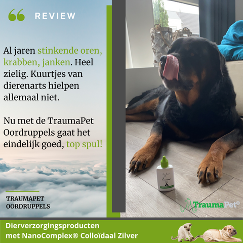 Review TraumaPet Oordruppels