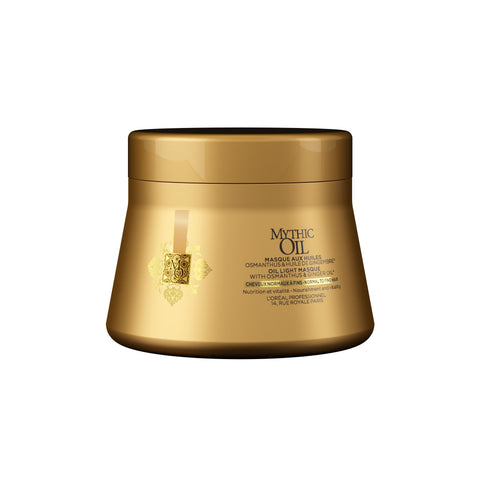 L'Oreal Professional Mythic Oil Masque For Normal To Fine Hair 200ml