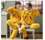 pyjama de couple pikachu pokemon