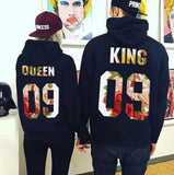 Sweats Couple King et Queen #09 noir