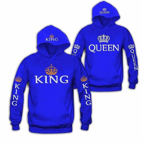 pull king queen bleu