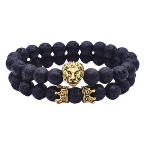 bracelet couple lion