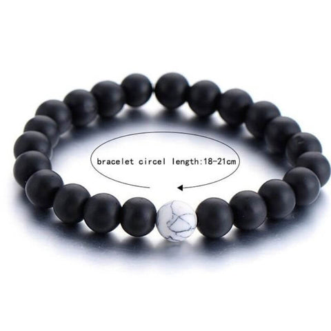 dimension du bracelet distance howlite