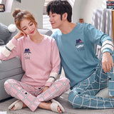 Pyjamas pour couple assortis