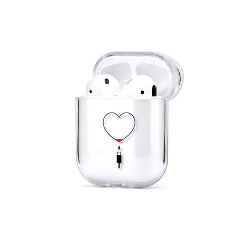 coques airpods assortis couple