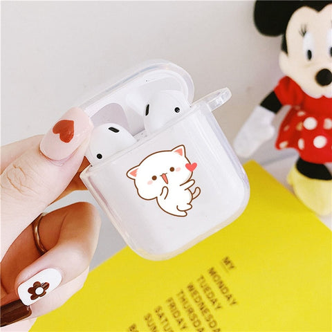 coques assortis airpods couple pas cher