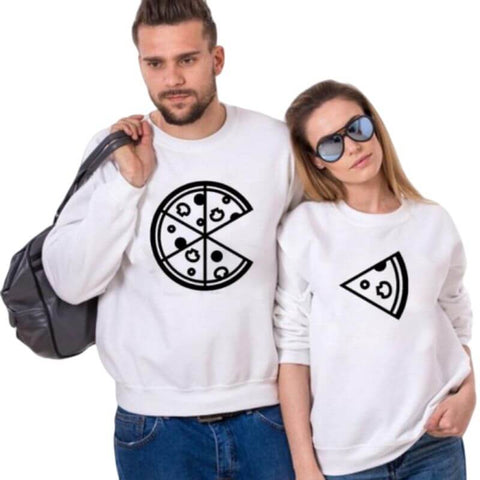 pull couple pizza