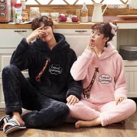 pyjama chaud couple