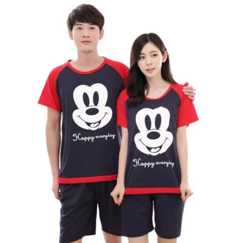 pyjama couple disney