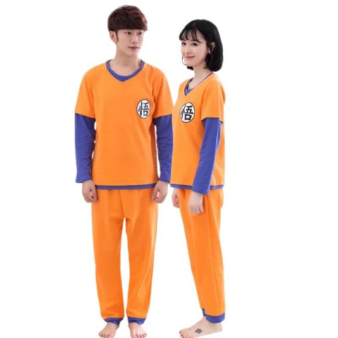 pyjama couple geek