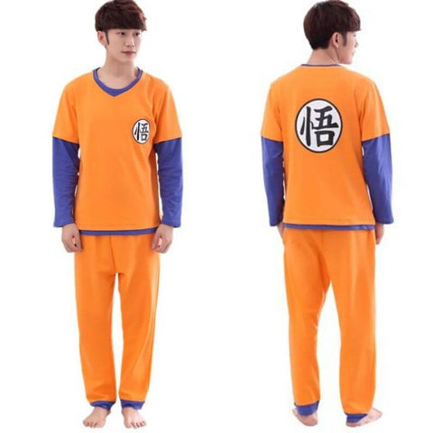 pyjama dragon ball z homme