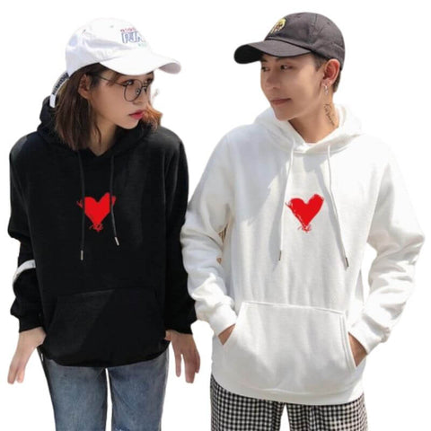 sweat couple pas cher
