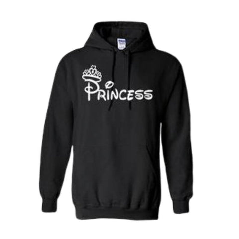 sweat capuche princesse