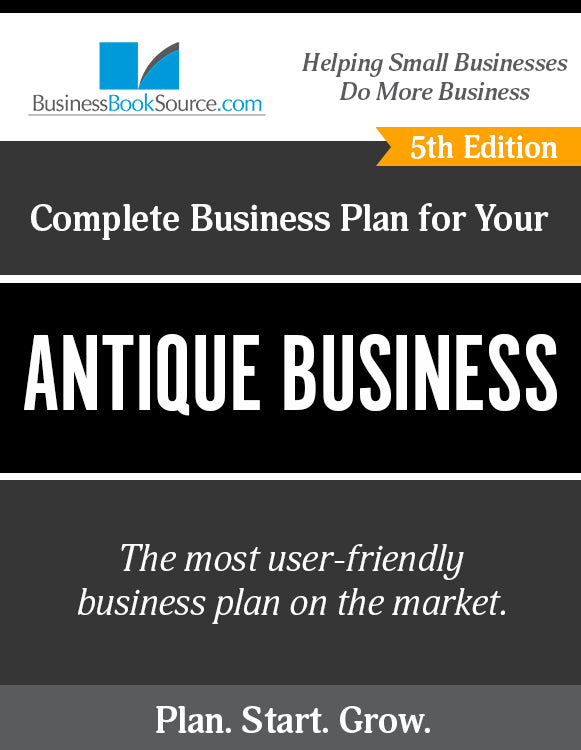 How to Write A Business Plan for an Antique Dealer