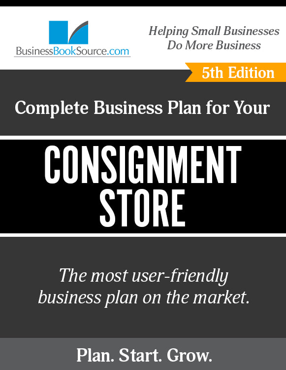 How to Write A Business Plan for a Consignment Shop