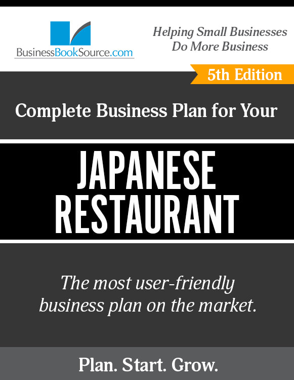 How to Write A Business Plan for a Japanese Restaurant