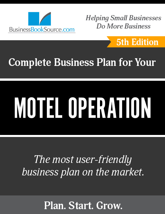 How to Write A Business Plan for a Motel Operation