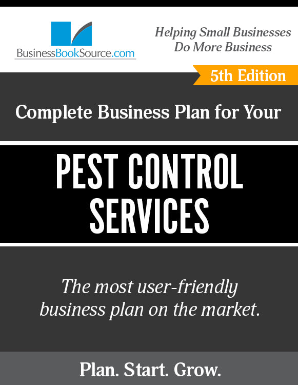 How to Write A Business Plan for a Pest Control Service