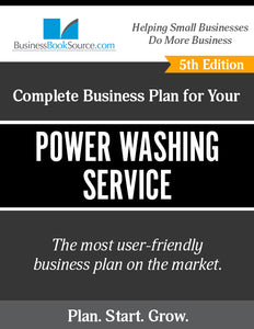 How to Write A Business Plan for a Power Washing Service