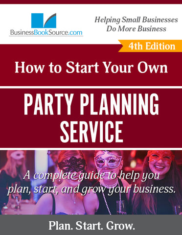Start Your Own Party Planning Business!