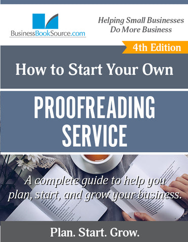 Start Your Own Proofreading Business!