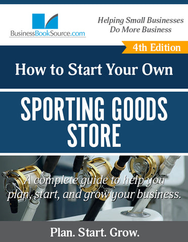 Start Your Own Sporting Goods Store!