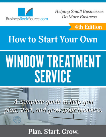 Start Your Own Window Treatment Business!