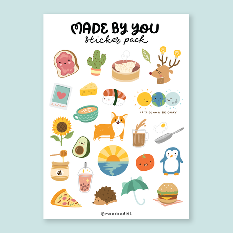 Sticker Pack: Made by You