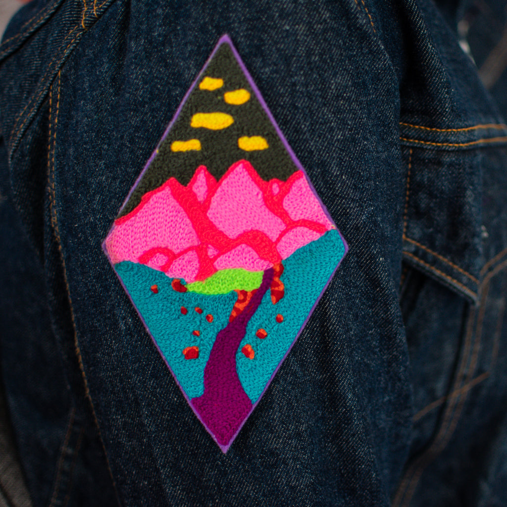 Mt. Nineties - Chainstitch Patch