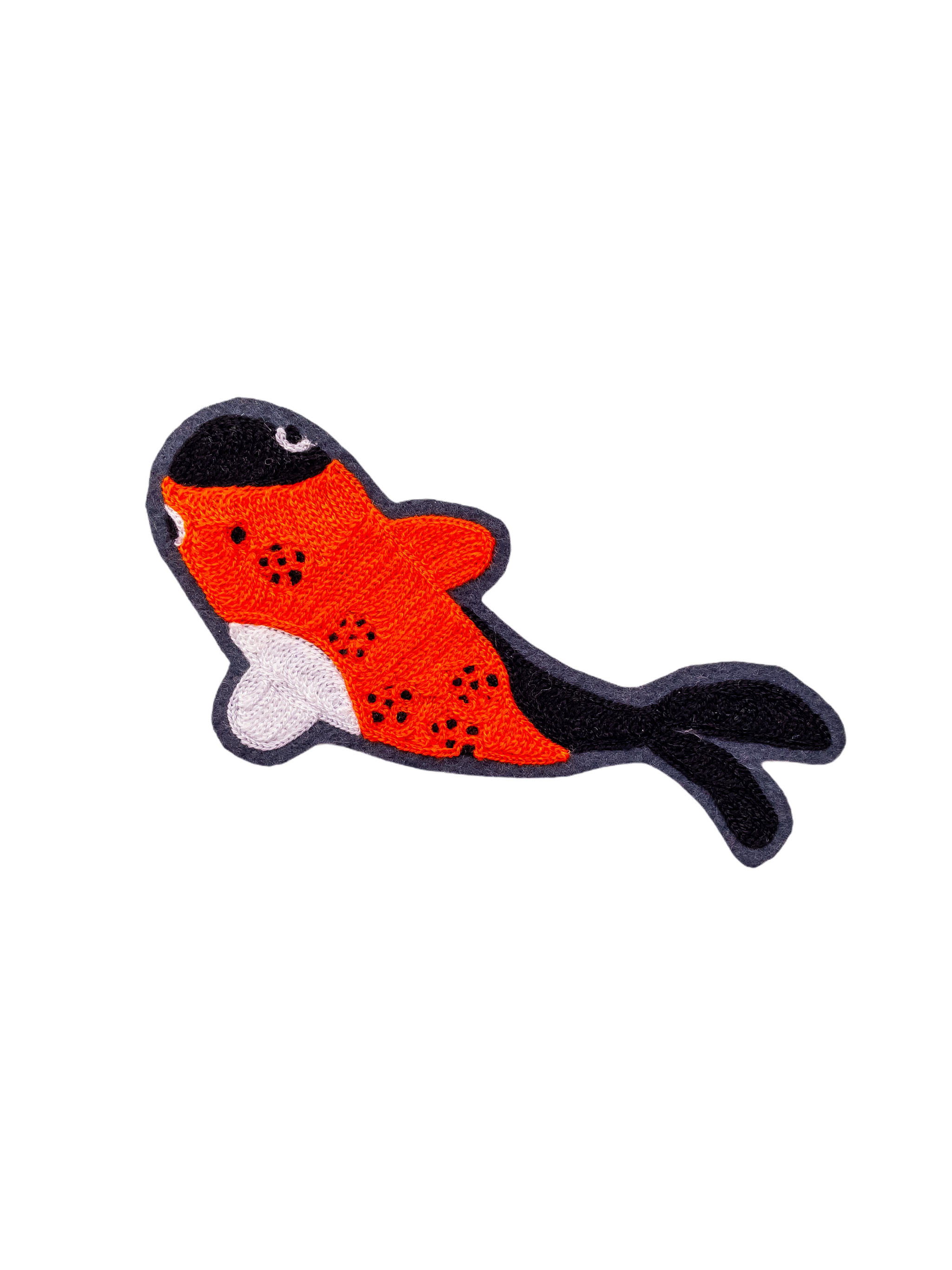 Koi Fish - Chainstitch Patch