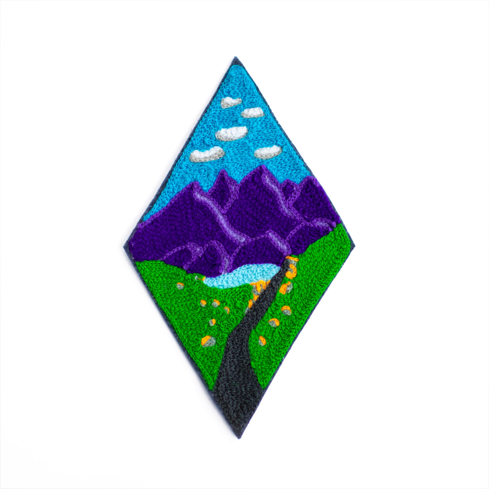 Mt. Sherman - Chainstitch Patch
