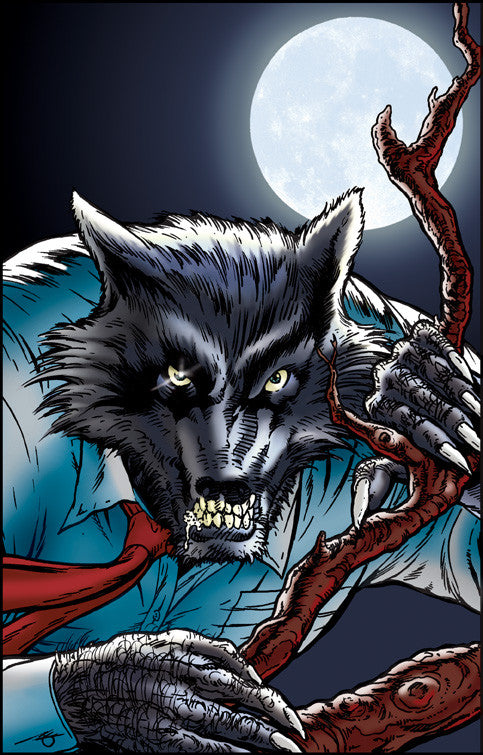 Comic Book Wolfman