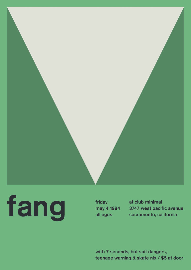 Fang at Club Minimal, 1984