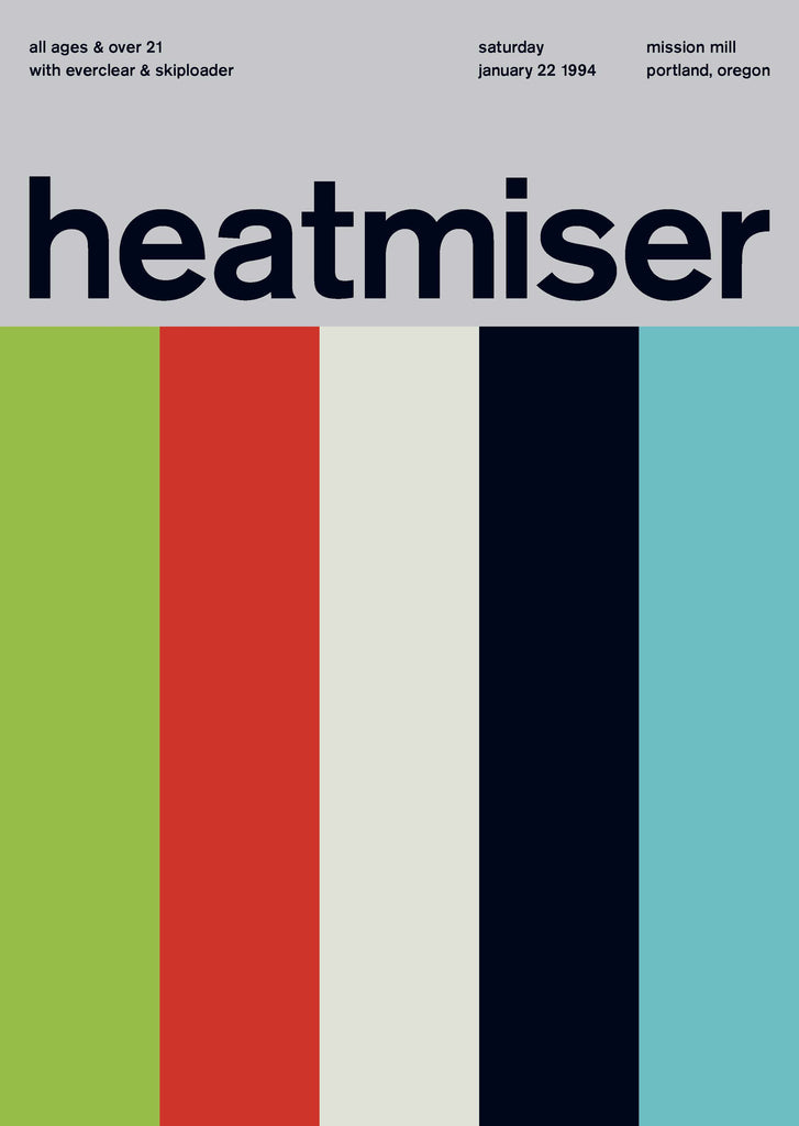 Heatmiser at Mission Hill, 1994