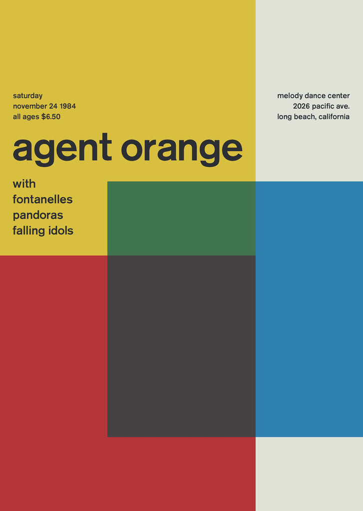 Agent Orange at Melody Dance Center, 1984