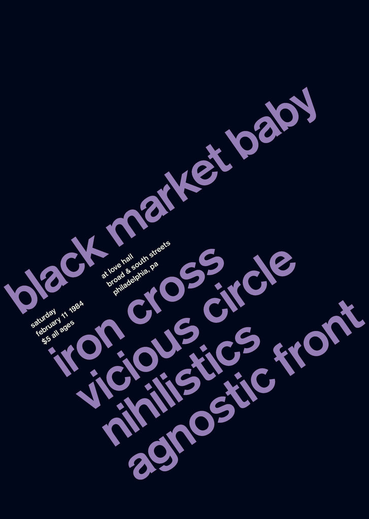 Black Market Baby at Love Hall, 1984