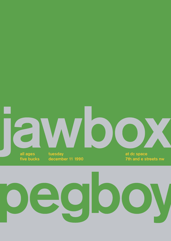 Jawbox at DC Space, 1990