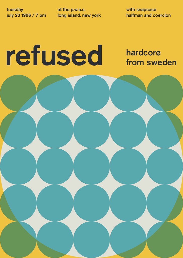 Refused at The P.W.A.C., 1996