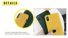 Load image into Gallery viewer, Corduroy iPhone Cases - Quirky Masala