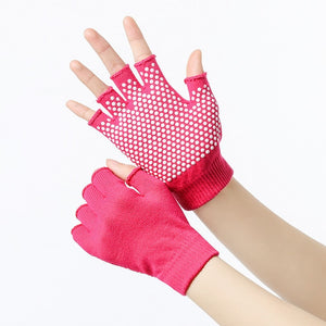Women Anti-slip Yoga and Pilates Socks or Gloves - Quirky Masala