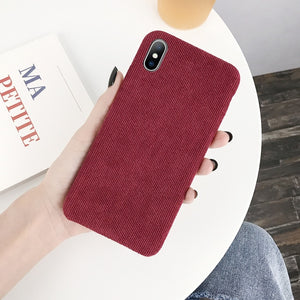 Corduroy iPhone Cases - Quirky Masala