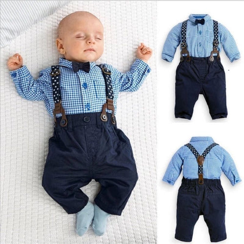 Baby Smart Suspender Set - Quirky Masala
