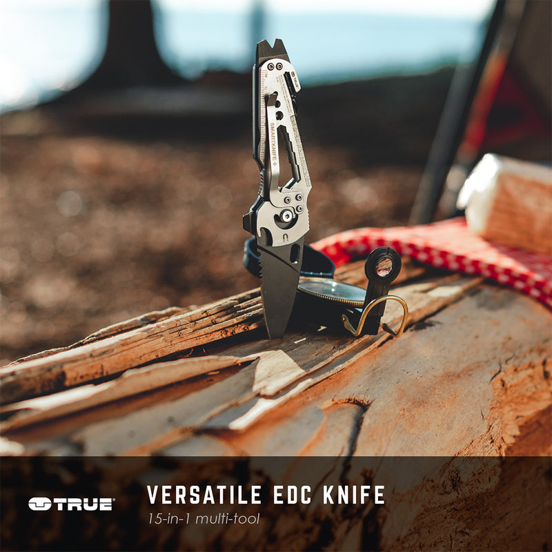 SMARTKNIFE+ | 15-in-1 Multi-Tool Wrapped Around a Pocket Knife