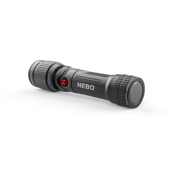 NEBO REDLINE FLEX 450 Lumen Rechargeable LED Flashlight with 6X Zoom